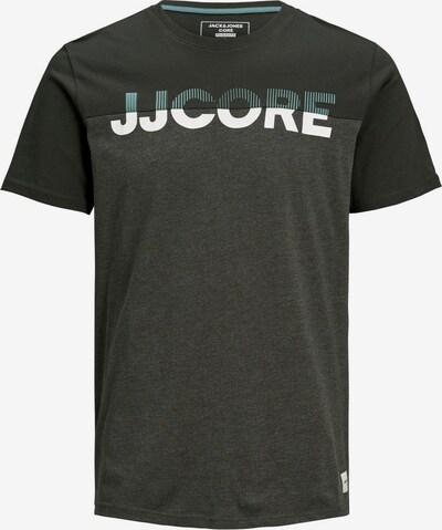 JACK & JONES T-Shirt en noir, Vue avec produit
