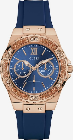 GUESS Analog Watch 'LIMELIGHT' in Navy / Rose gold, Item view