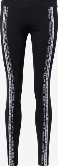ADIDAS ORIGINALS Leggings in black / white, Item view