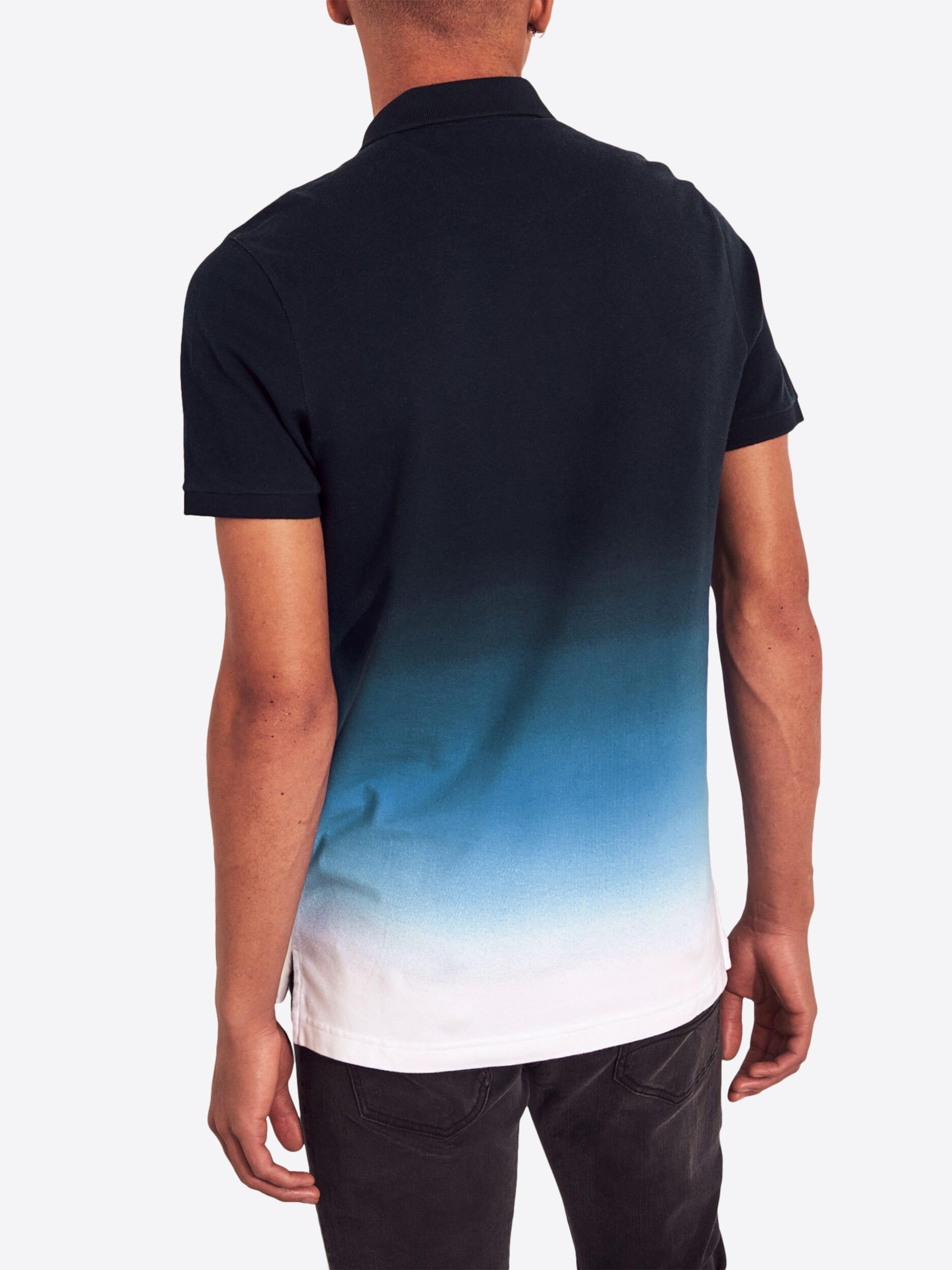 Foncé Bleu T shirt Hollister En fbg67y