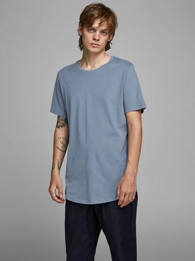 JACK & JONES T-Shirt en bleu-gris: Vue de face