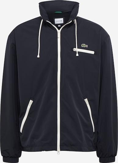 LACOSTE Prehodna jakna | črna barva, Prikaz izdelka