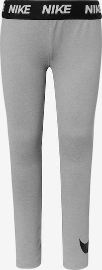 Nike Sportswear Leggings 'SPORT ESSENTIALS SWOOSH' in grau / schwarz, Produktansicht