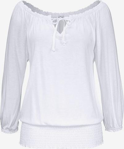 LASCANA Shirt in de kleur Wit, Productweergave
