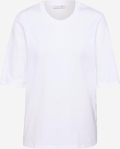 LACOSTE Camiseta en blanco, Vista del producto