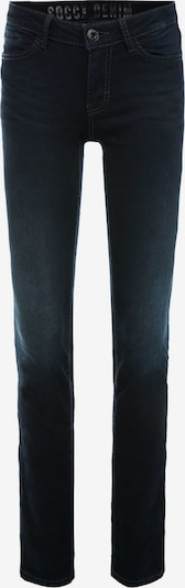 Soccx Stretch-Jeans RO:MY mit Used-Waschung in dunkelblau, Produktansicht