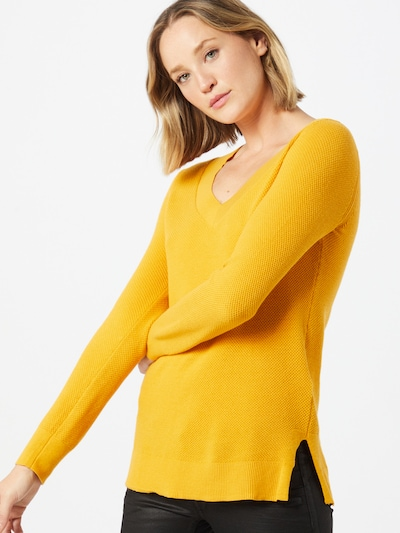 Pulover 'Bella' GAP pe auriu, Vizualizare model