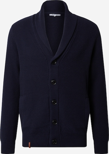 ABOUT YOU Gebreid vest 'Davin' in de kleur Nachtblauw, Productweergave