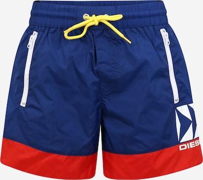 DIESEL Shorts de bain 'BMBX WAVE' en bleu / rouge, Vue avec produit