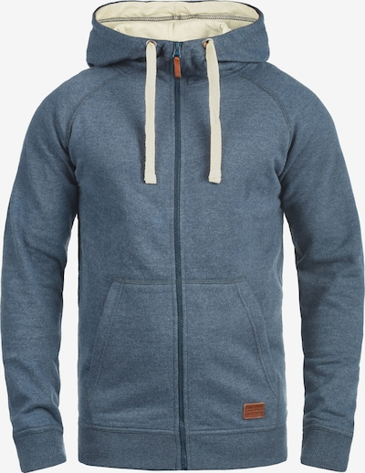 BLEND Sweatjacke 'Speedy' in blau, Produktansicht