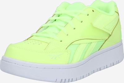 Reebok Classic Sneakers laag in de kleur Geel / Neongeel: Vooraanzicht