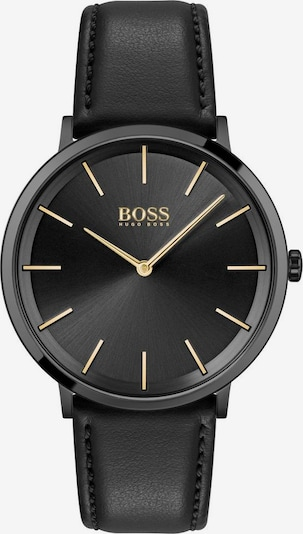 BOSS Analog watch 'SKYLINER' in gold / black / silver, Item view