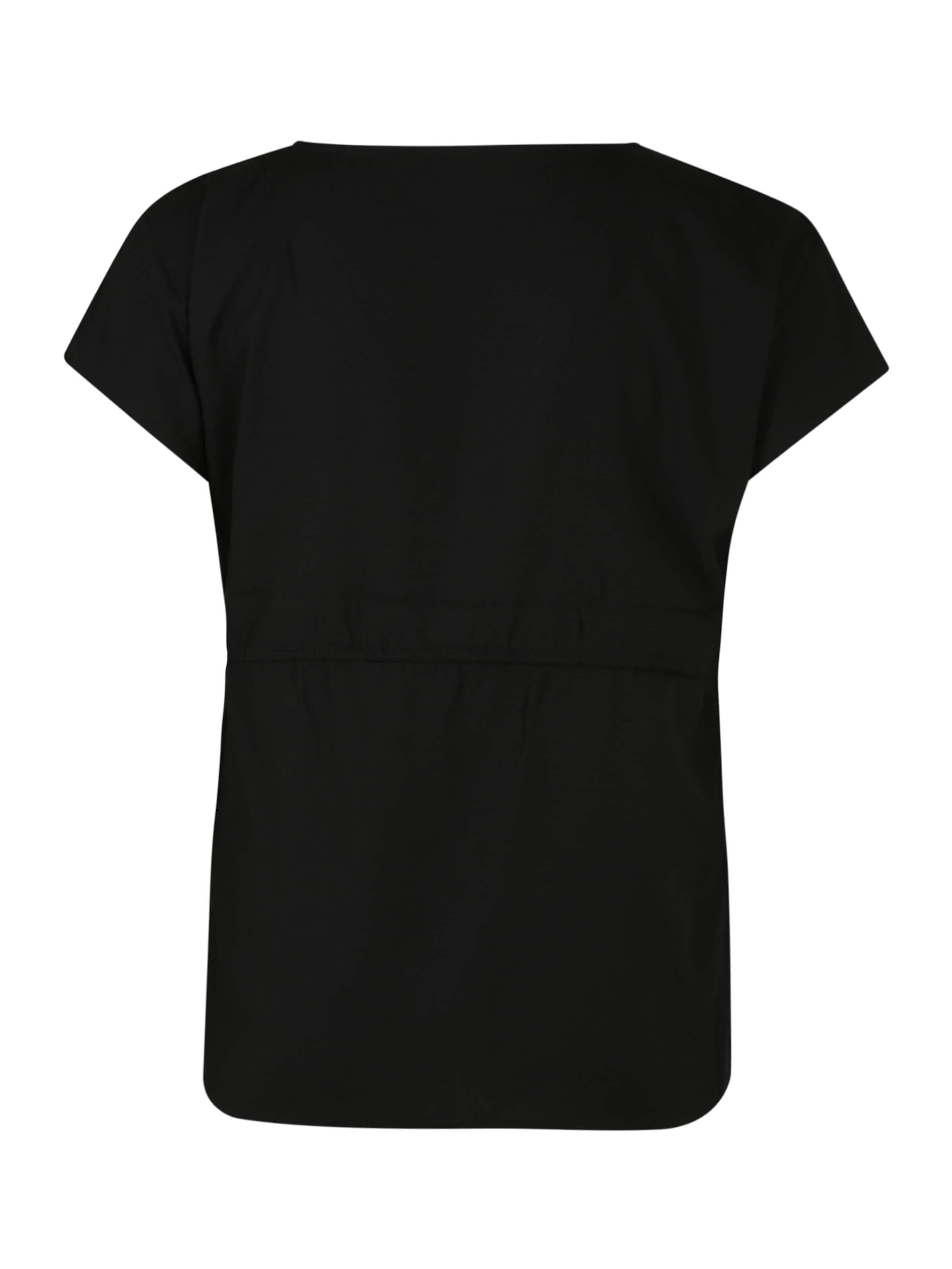 MY TRUE ME Blusenshirt in schwarz