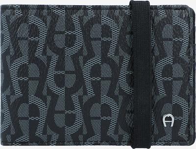 AIGNER Geldbörse 'Icon Cover' 10cm in grau / schwarz, Produktansicht