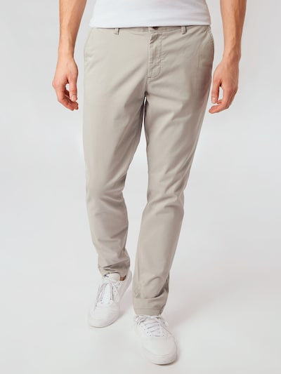 JACK & JONES Chinohose in grau, Modelansicht