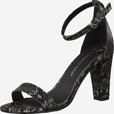 MARCO TOZZI Sandalette in dunkelgrau, Produktansicht