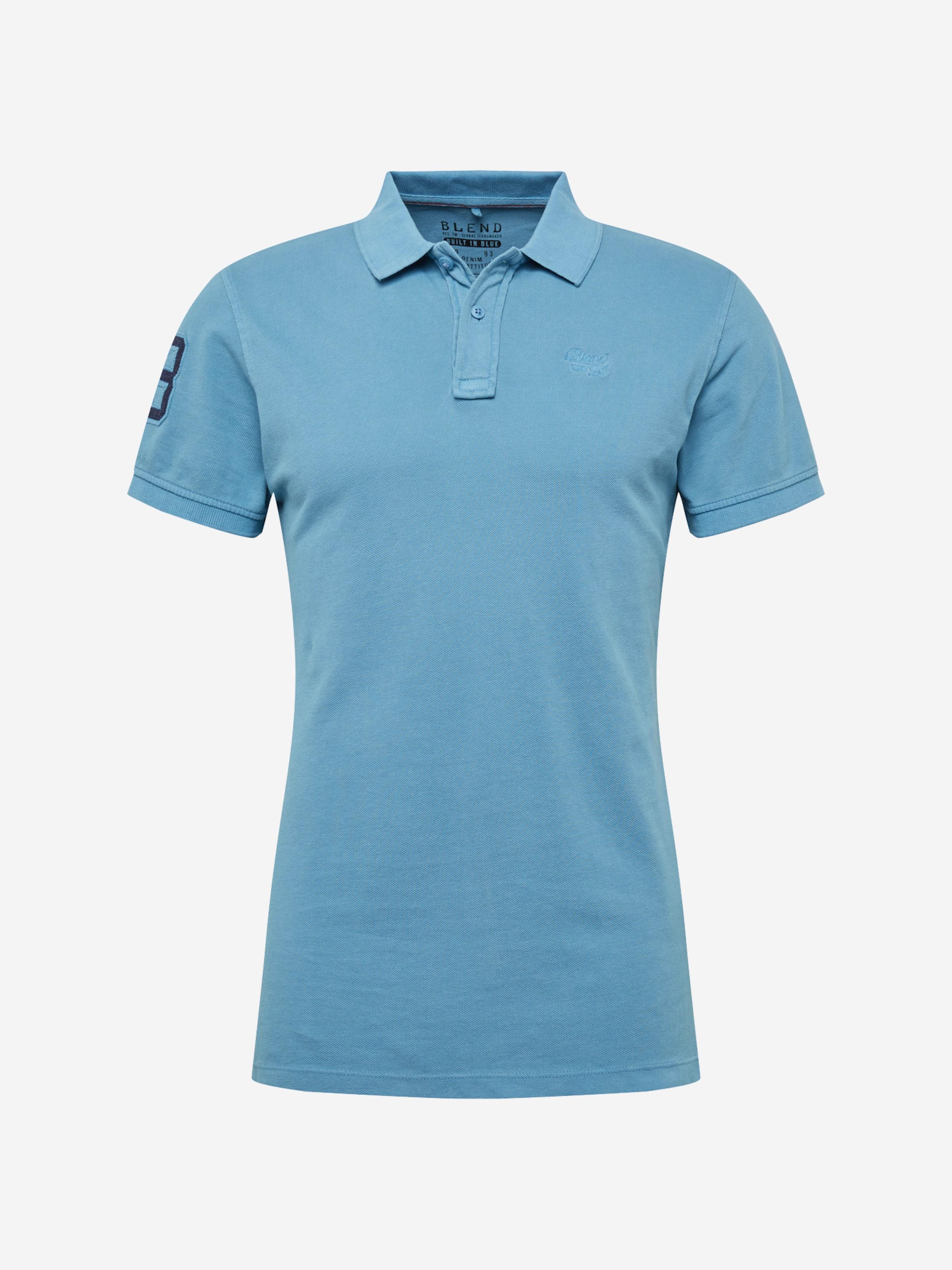 En Blend 'tee' Bleu Clair T shirt jL54AR