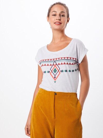 Iriedaily T-shirt 'Hopi Tee' en blanc: Vue de face
