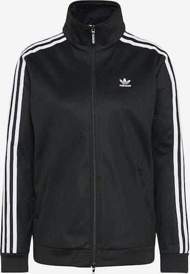 ADIDAS ORIGINALS Sportjacke 'CONTEMP' in schwarz / weiß, Produktansicht