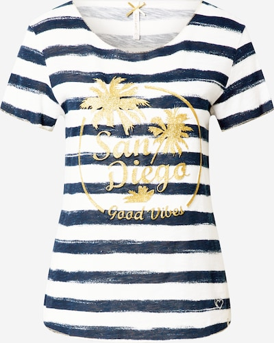 Key Largo T-Shirt in navy / gold / mischfarben, Produktansicht