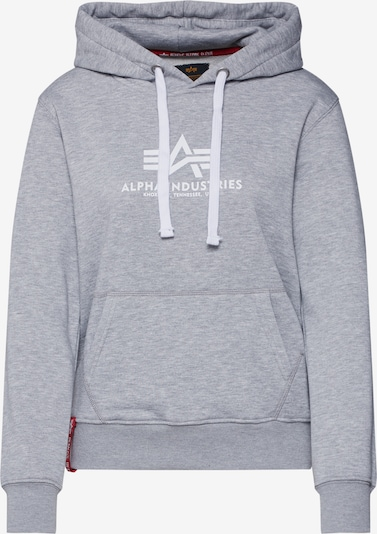 ALPHA INDUSTRIES Sweatshirt in graumeliert, Produktansicht