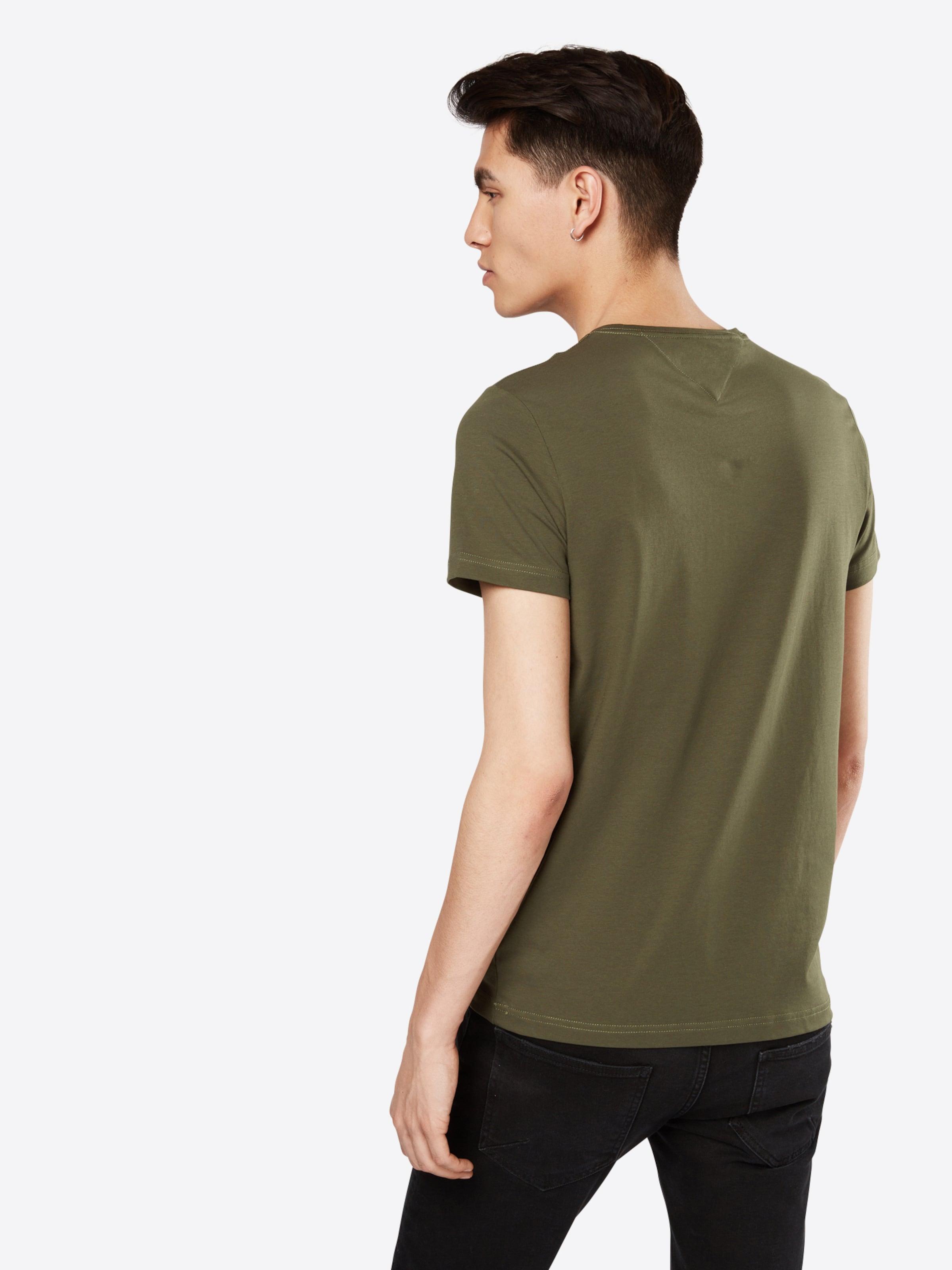 TOMMY HILFIGER T-Shirt 'STRETCH CNK TEE S/S SF' Verkauf 100% Original svSV4