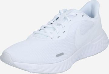 NIKE Juoksukengät 'Revolution 5' värissä valkoinen