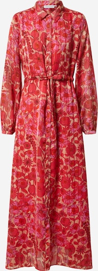 Rochie tip bluză 'Frida' Fabienne Chapot pe roz / roșu, Vizualizare produs