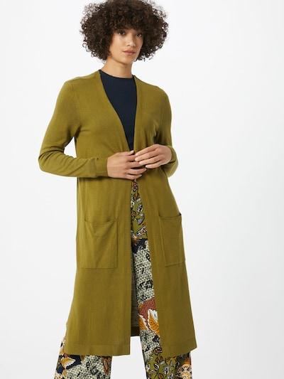 ESPRIT Kardigán - olivová: Pohľad spredu