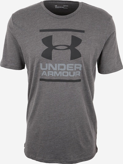 UNDER ARMOUR Funktionsshirt 'Foundation' in greige / dunkelgrau, Produktansicht