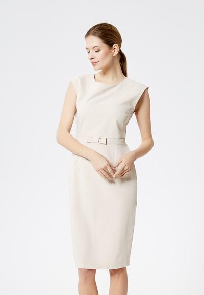 DREIMASTER Kleid  'Klassik' in nude, Modelansicht