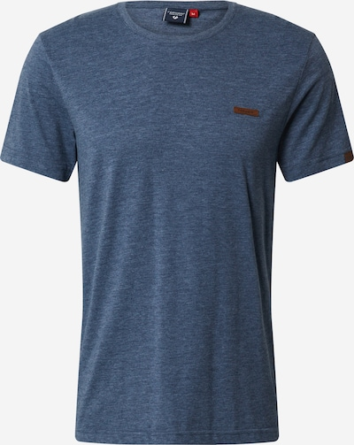 Ragwear T-Shirt 'NEDIE' en bleu: Vue de face
