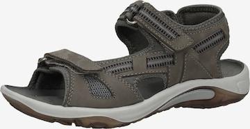 Sandales de randonnée Bama en gris