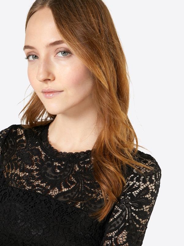 VERO MODA Langarm-Shirt mit Spitze 'Vmceleb'