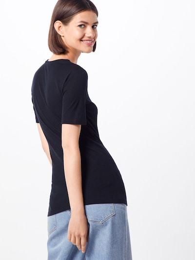 MOSS COPENHAGEN T-shirt 'Mona' en noir: Vue de dos