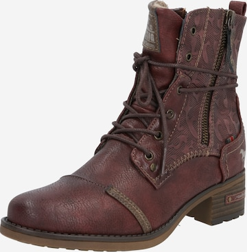 MUSTANG Stiefelette in Rot