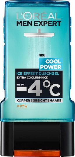 L'Oréal Paris men expert 'Men Expert Duschgel Cool Power', Duschgel in türkis, Produktansicht