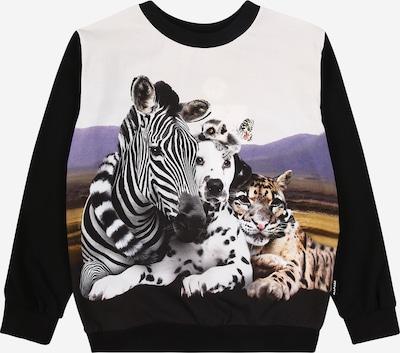 Molo Shirt 'Regine' in taubenblau / hellbraun / apricot / schwarz / weiß, Produktansicht