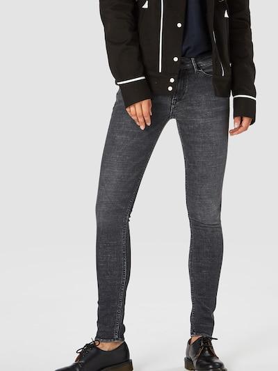Kings Of Indigo Jeans 'JUNO' in grey denim: Frontalansicht