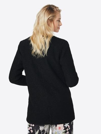 ONLY Mantel in schwarz: Rückansicht