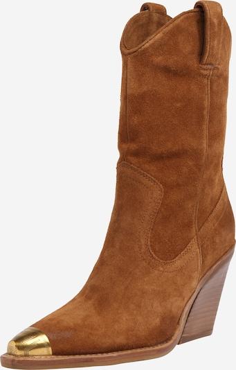 Cizme de cowboy 'New Kole' BRONX pe coniac, Vizualizare produs