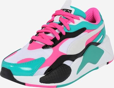 PUMA Sneaker 'RS-X³  PLASTIC' in grün / pink / weiß, Produktansicht
