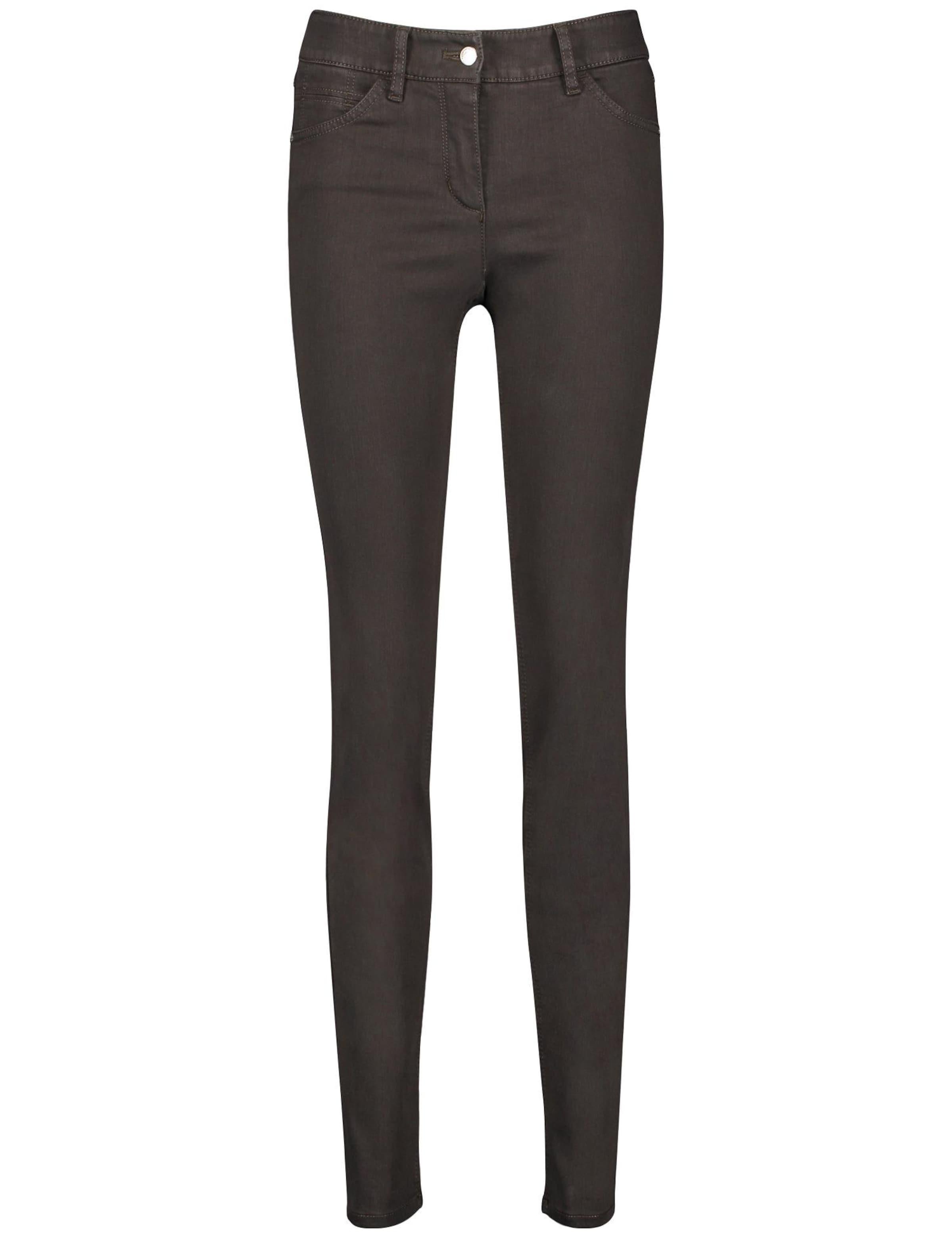 GERRY WEBER Jeans 'Best4me' in schoko