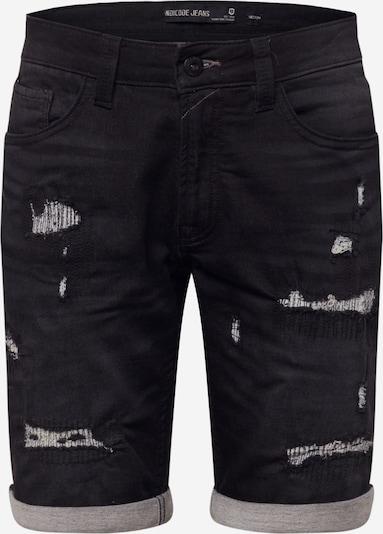 INDICODE JEANS Shorts 'Commercial' in schwarz, Produktansicht