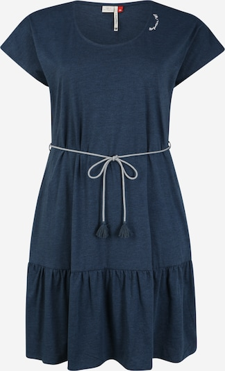 Ragwear Plus Jurk 'RIGATA' in de kleur Blauw denim, Productweergave