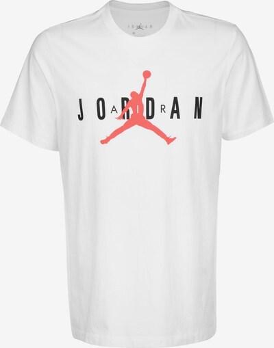 Jordan T-Shirt 'Air Wordmark' in orange / schwarz / weiß, Produktansicht