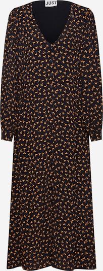 JUST FEMALE Robe-chemise 'Veneda' en noir, Vue avec produit