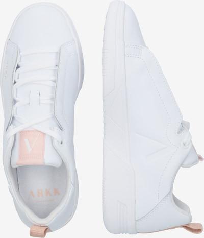 ARKK Copenhagen Sneaker 'Uniklass Leather S-C18' in weiß: Seitenansicht