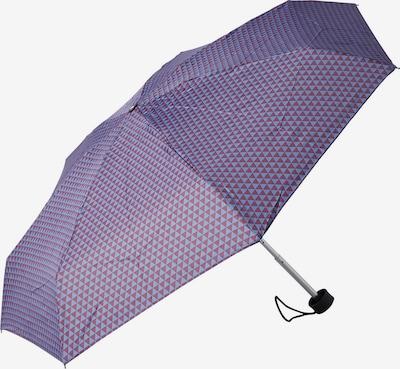 TOM TAILOR Regenschirm in himmelblau / rotviolett, Produktansicht