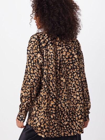 Missguided Bluzka w kolorze brązowy / czarnym: Widok od tyłu
